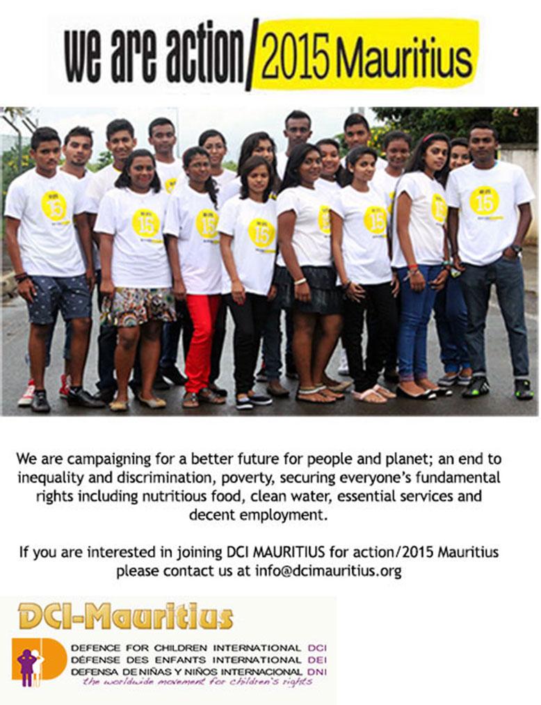 DCI Mauritius Action/2015